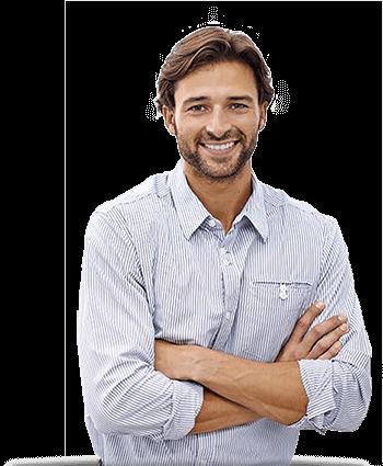 Empresário em reunião de Consultoria de Marketing