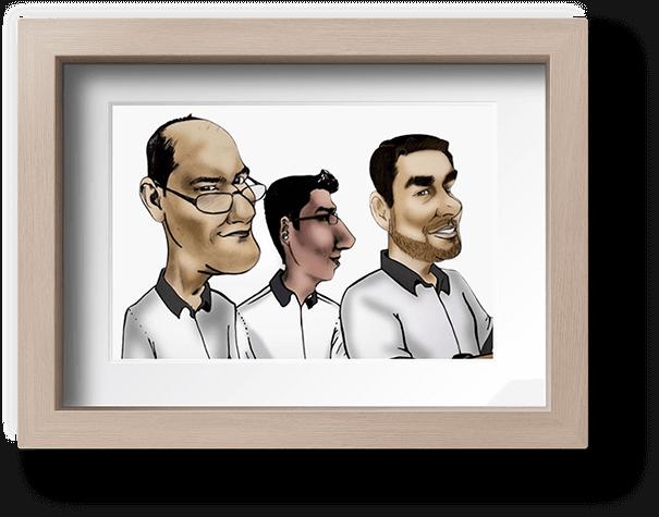 Exemplos de Caricatura - Agência Tângelo