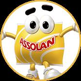 Mascote da marca Assolan - Agência Tângelo