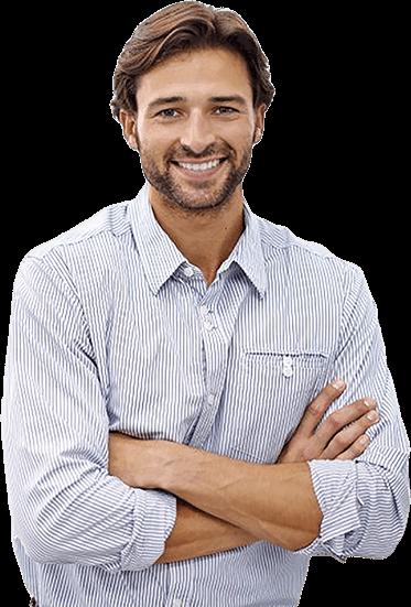 Imagem de Homem requisitando uma consultoria de marketing para sua empresa - Agência Tângelo
