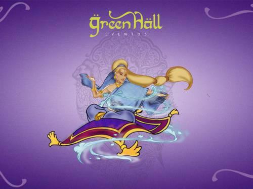 Mascote - Green Hall