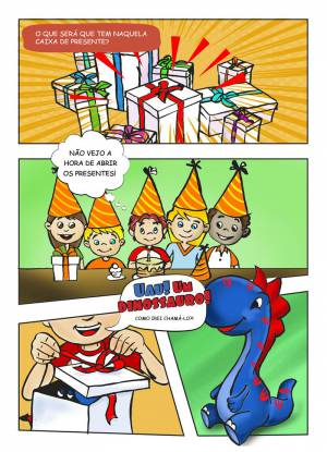 Ilustração Publicitária - Pop Burger