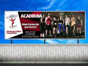 Campanha Publicitária - Academia Companhia do Corpo