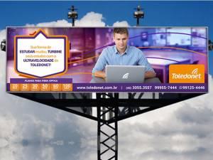Campanha Publicitária - Toledonet