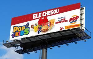 Campanha Publicitária - POP Burger