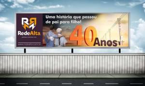 Campanha Publicitária - Rede Alta