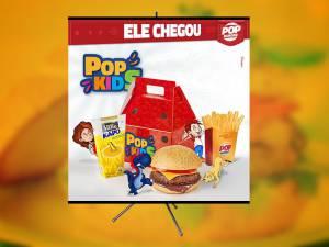 Banner - Pop Burger