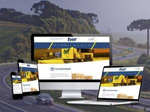 Desenvolvimento de Site - TWR Transportadora - Agência Tângelo