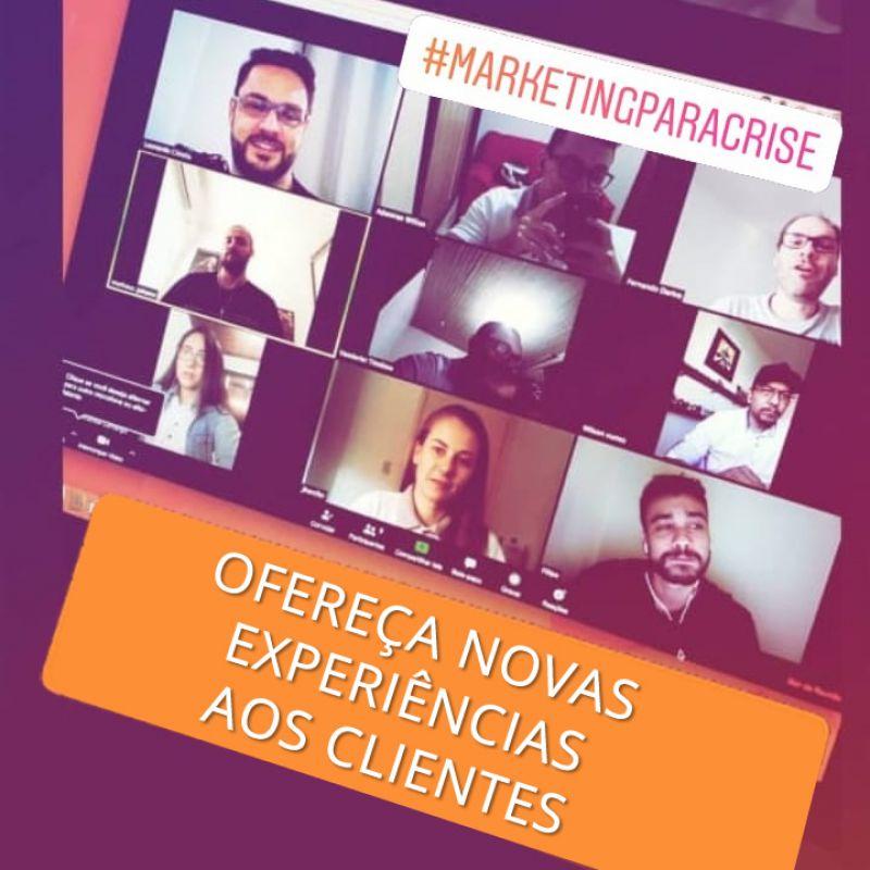 Série MARKETINGPARACRISE - Agência Tângelo - ofereça novas experiências aos clientes